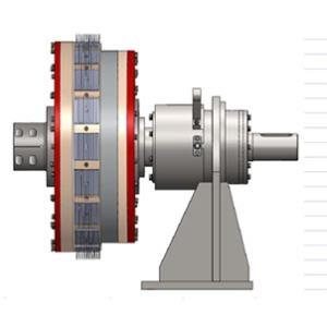 Three-cylinder permanent magnet governor